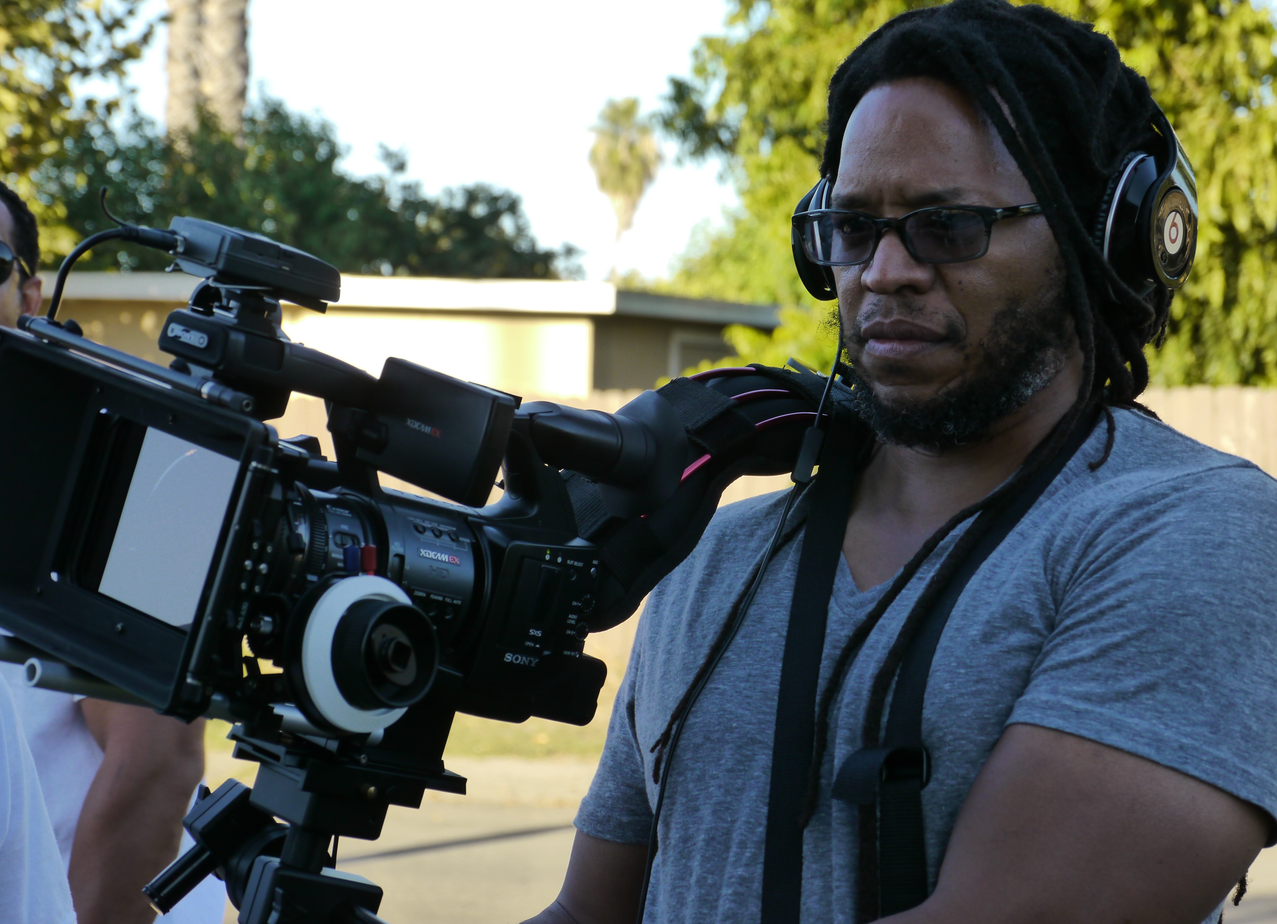 Director Allen Sowelle on set of FSC