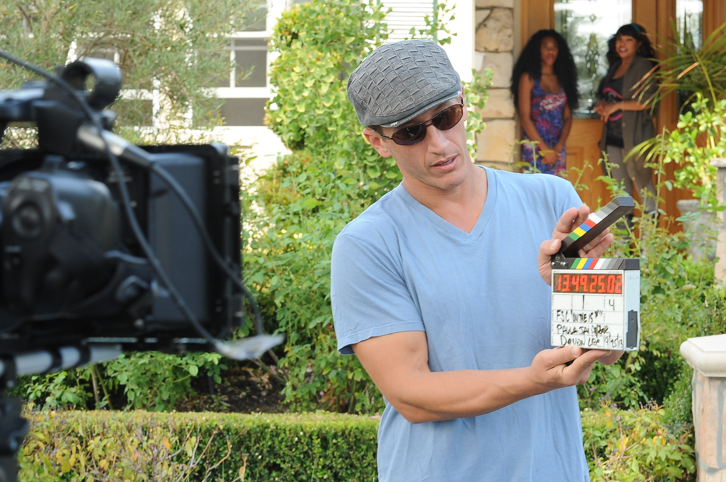 Producer Josh Feinman on set of FSC