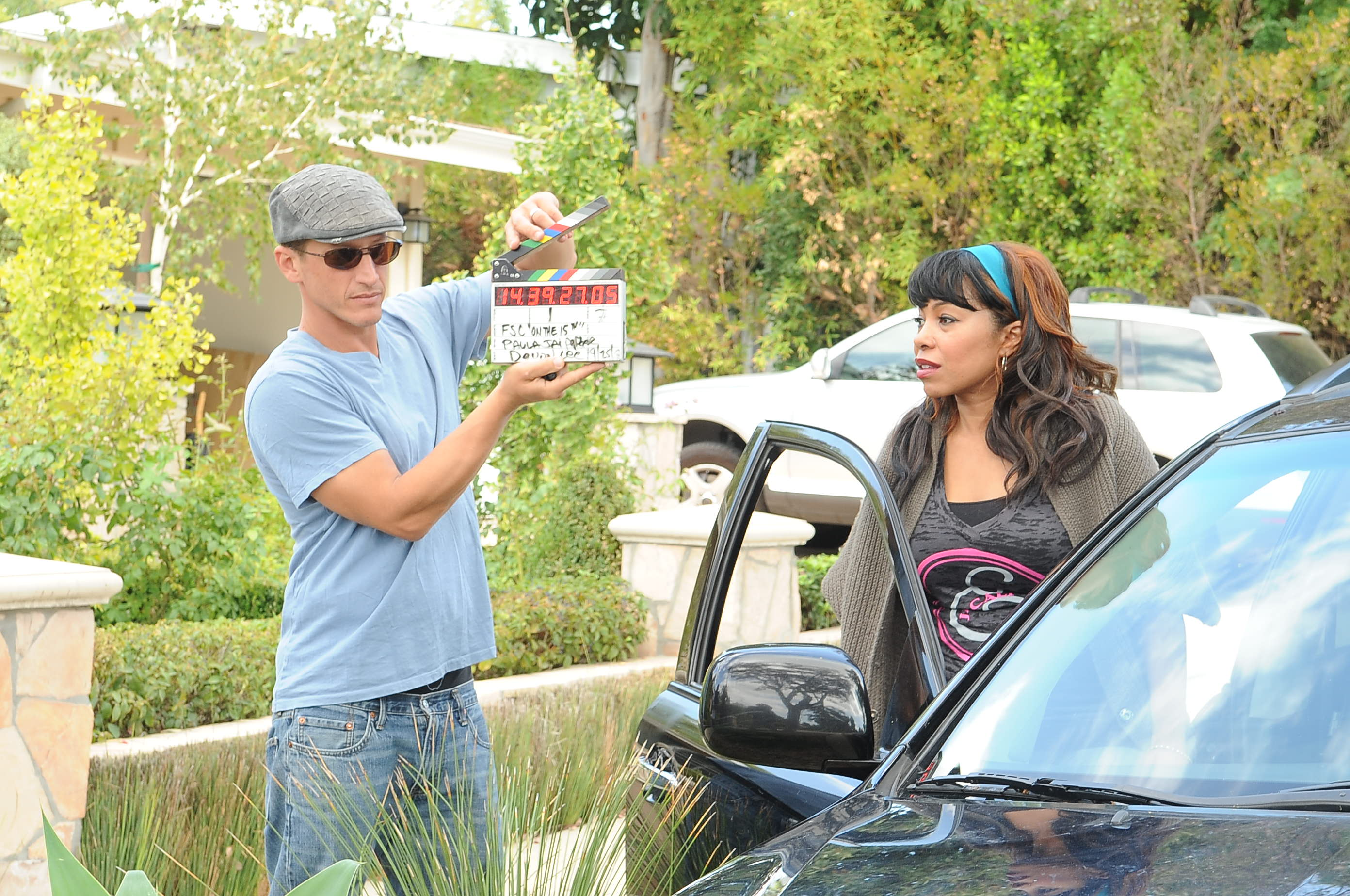 Producer Josh Feinman with Actor:Director Paula Jai Parker