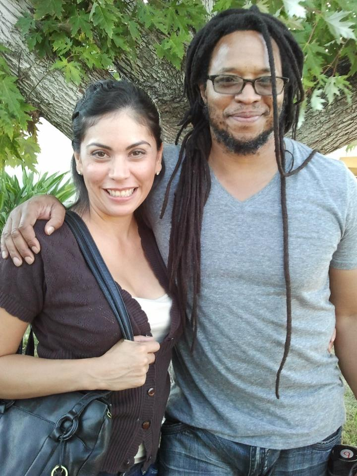 Actor Veronica Rocha and director Allen Sowelle